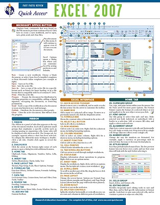 Excel 2007 By Research and Education Association